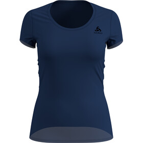 Odlo Suw Active F-Dry Light T-shirt à col ras-du-cou Femme, estate blue